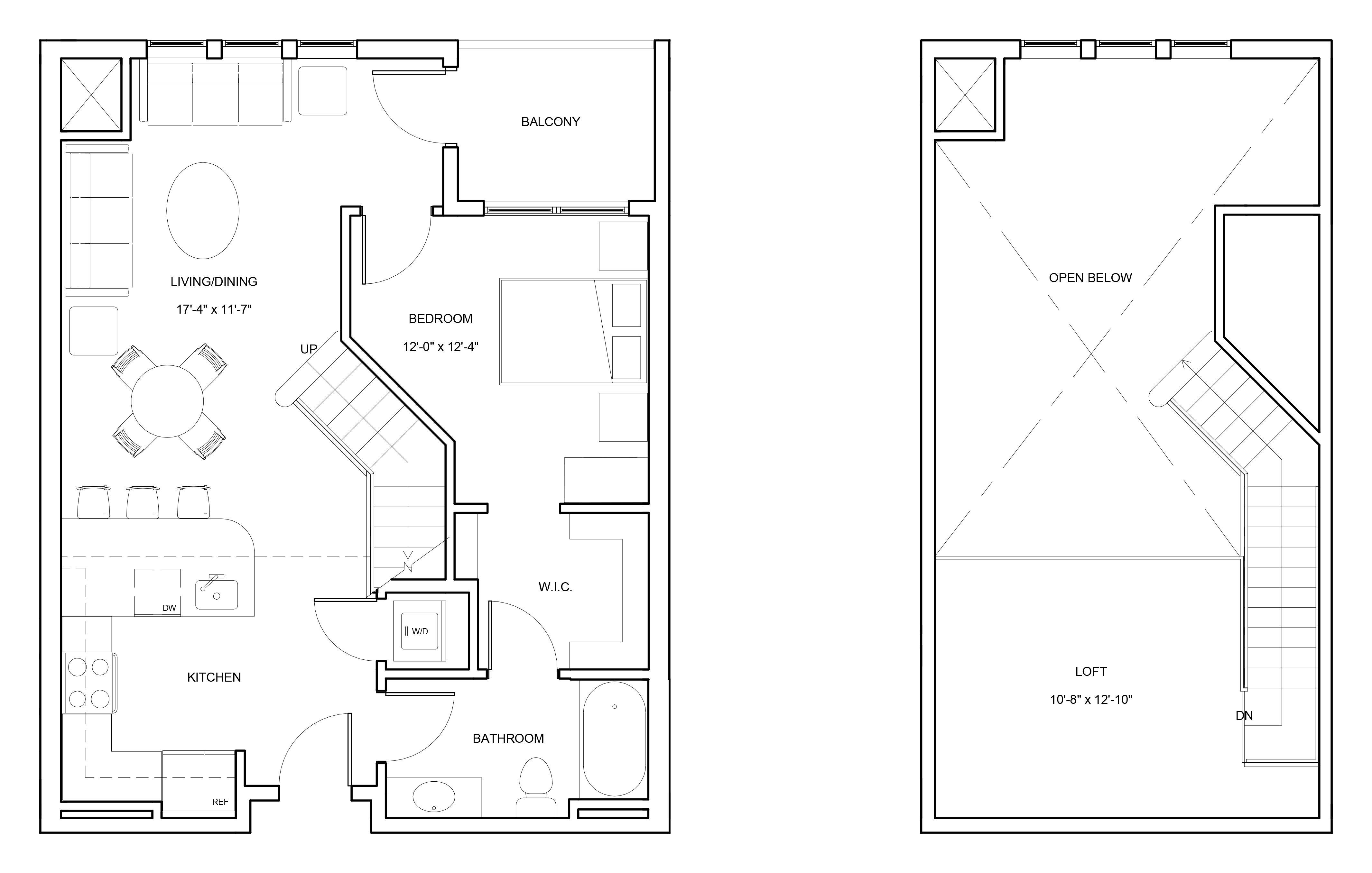 P0663804 a2bl 2 floorplan