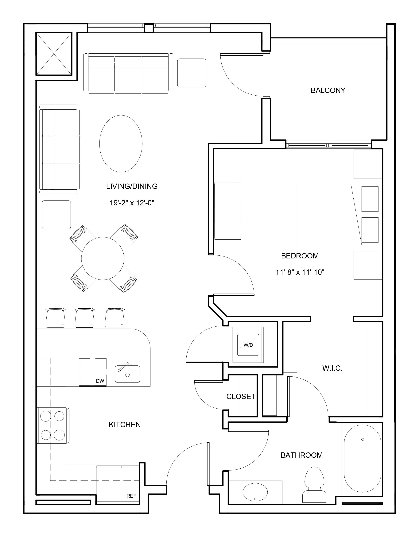 P0663804 a2b 2 floorplan