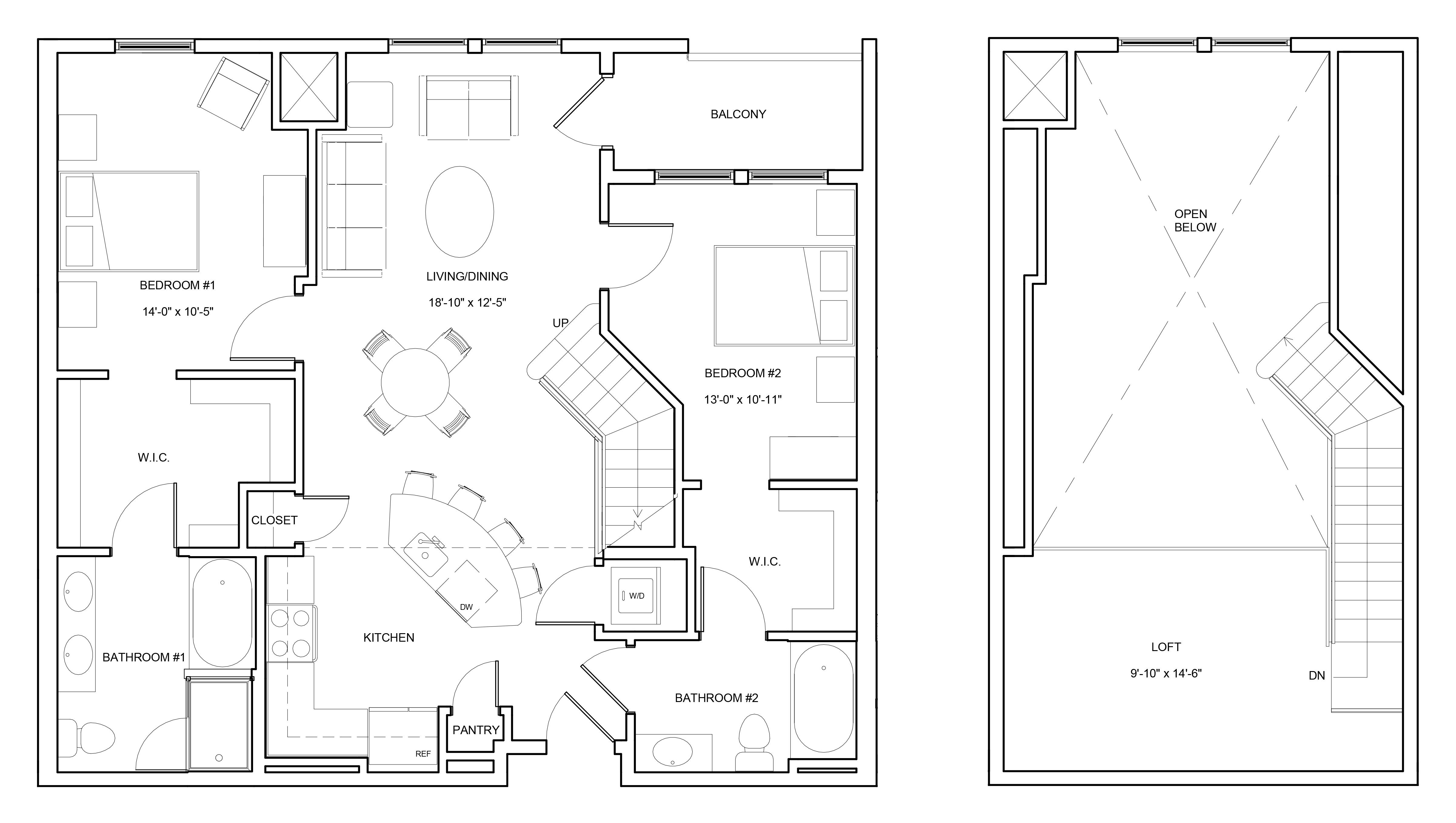 P0663804 b2bl 2 floorplan