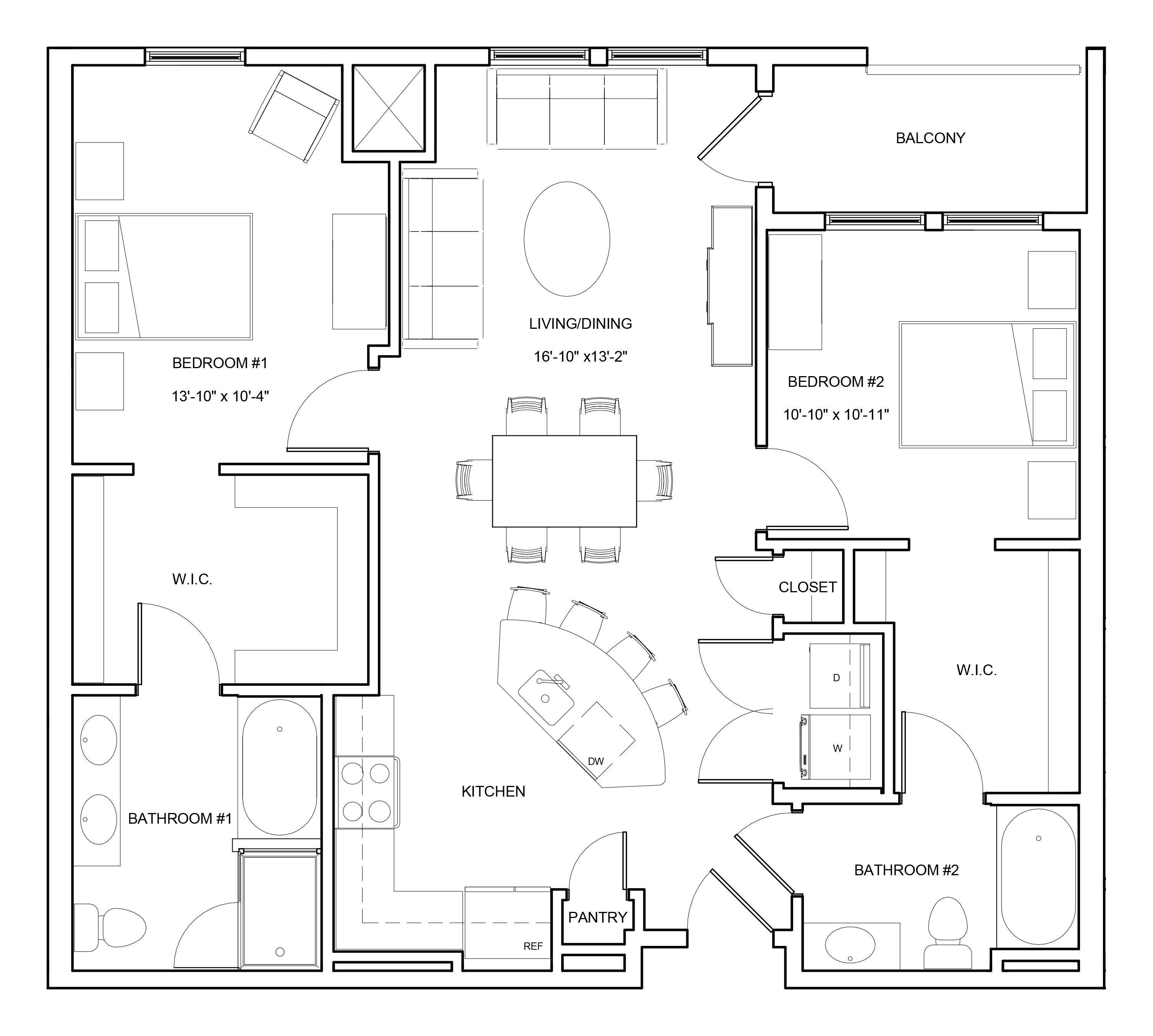 P0663804 b2b 2 floorplan