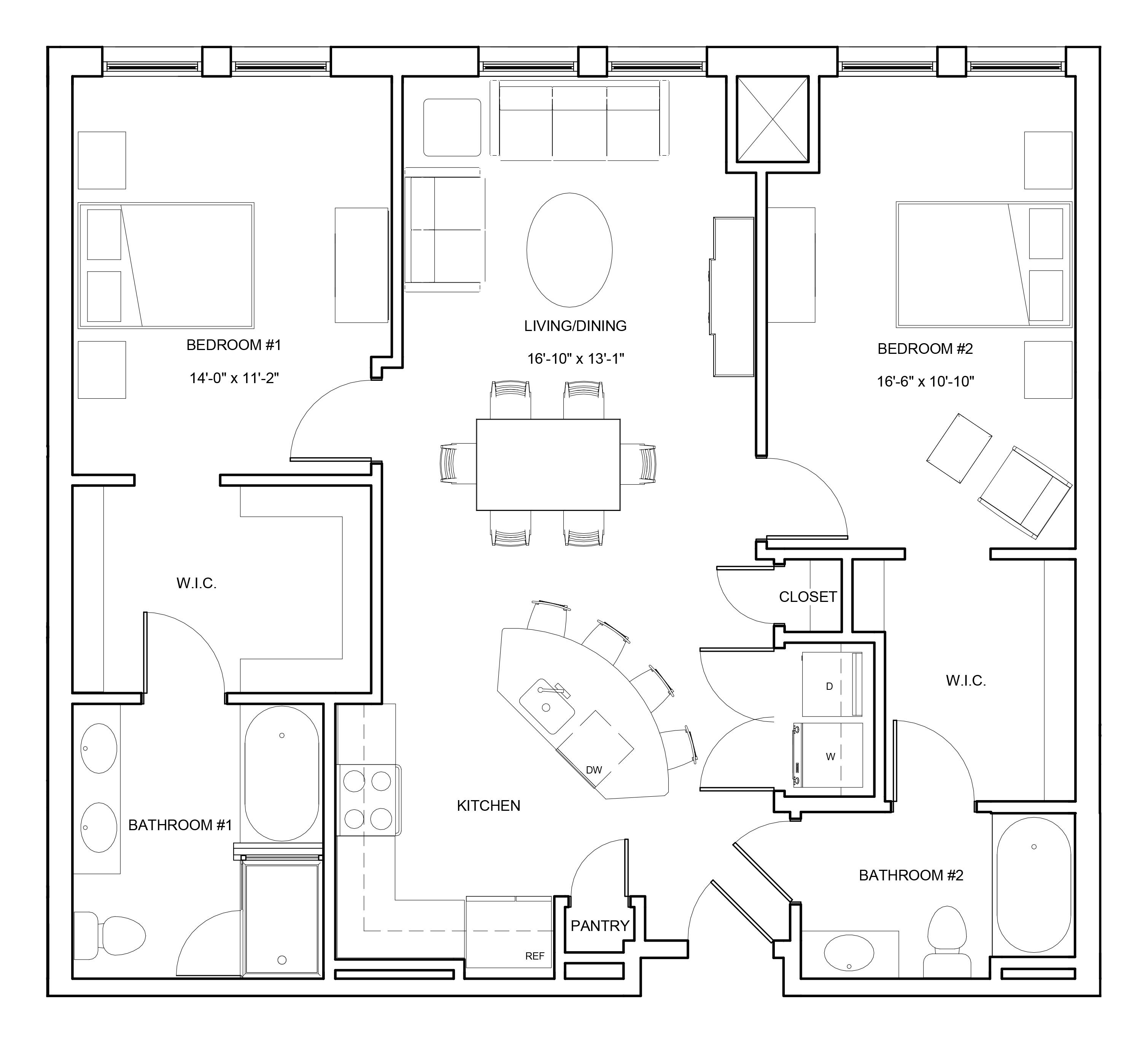 P0663804 b2 2 floorplan