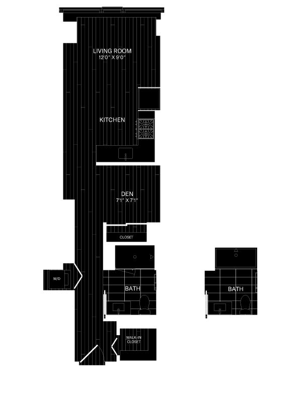 floor plan image of 1110