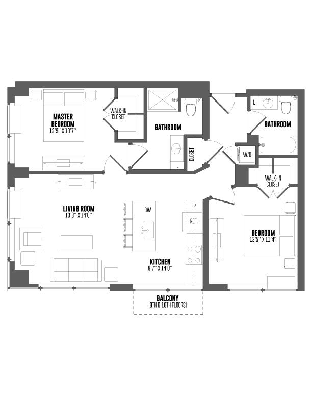 P0666450 hamilton t3a 986 2 floorplan