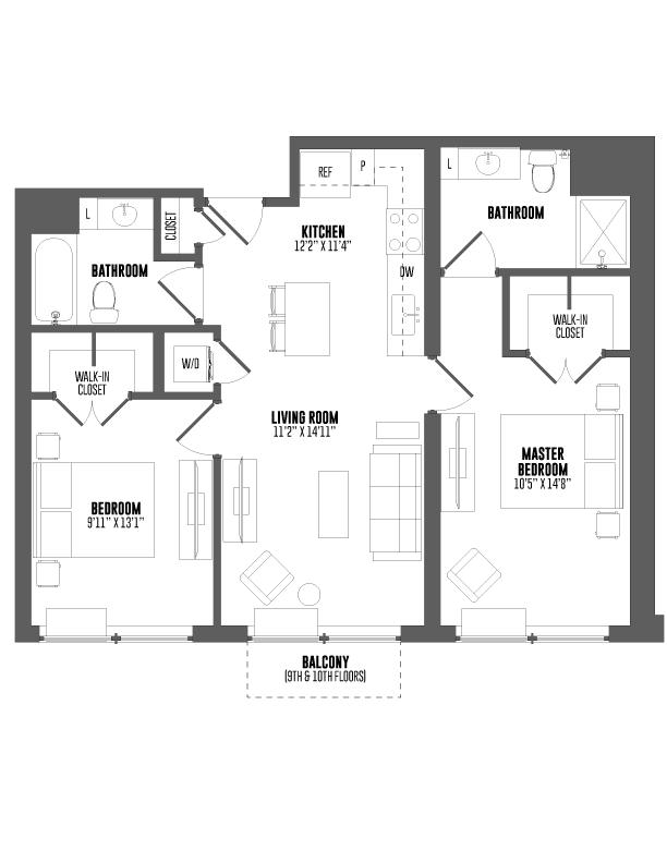 P0666450 hamilton t5a 884 2 floorplan