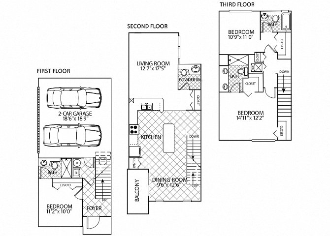 floor plan image of apartment in Marbella