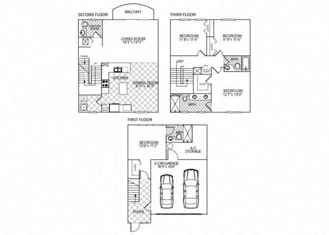 floor plan image of apartment in Valencia