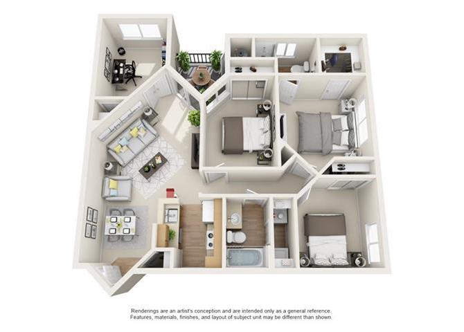 Floor Plans Element Deer Valley Apartments In Phoenix Az