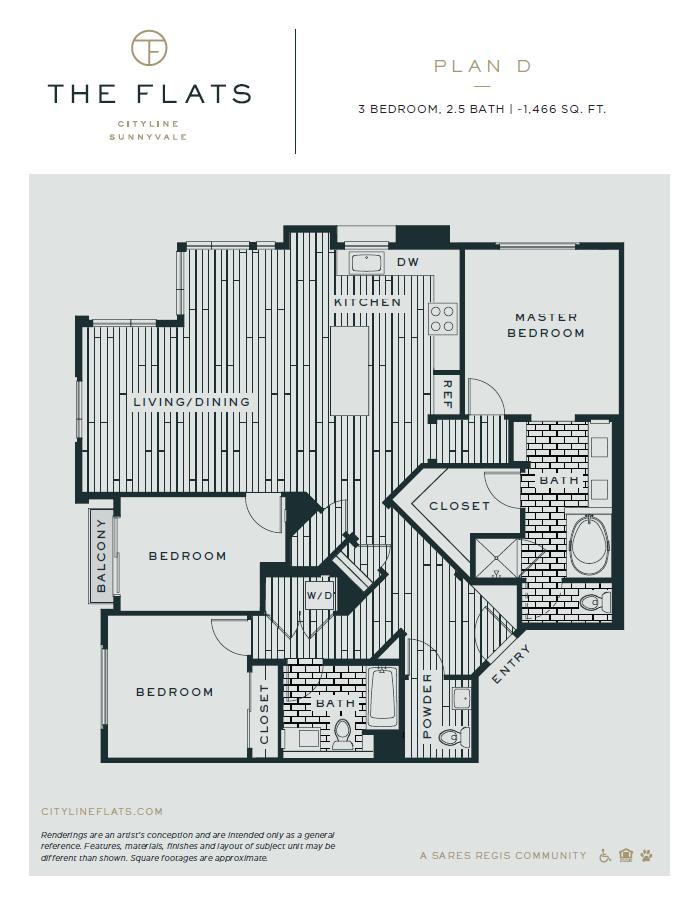 Floorplan - Plan D
