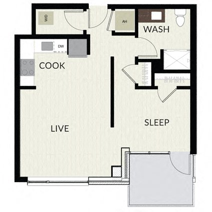 Floorplan image of unit 1202