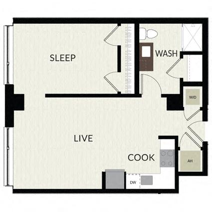 Floorplan image of unit 0501