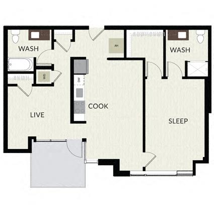 Floorplan image of unit 0204