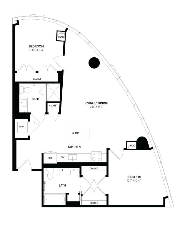 floorplan image of residence 0802