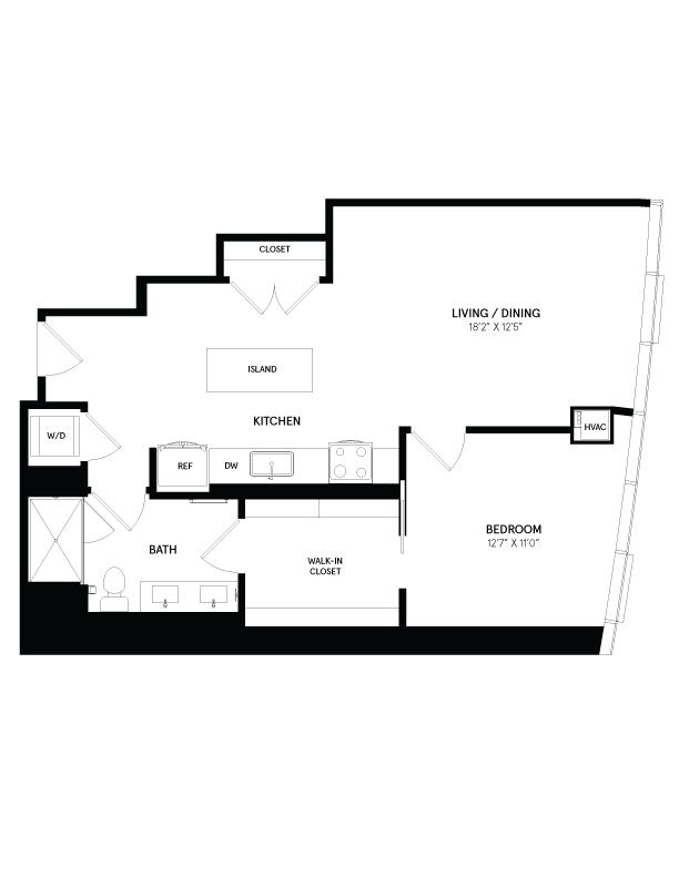 floorplan image of residence 1009