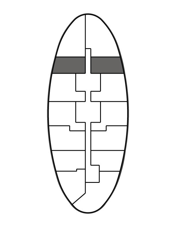 key plan image of residence 1003