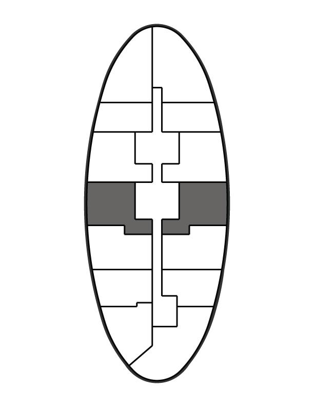 key plan image of residence 1007
