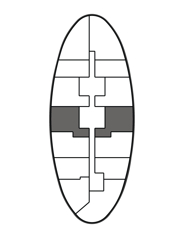 key plan image of residence 1008