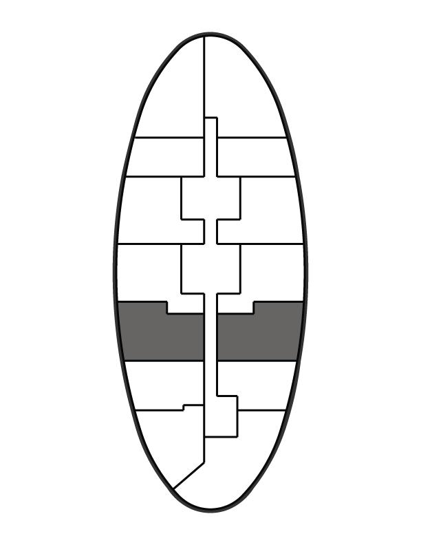 key plan image of residence 1009