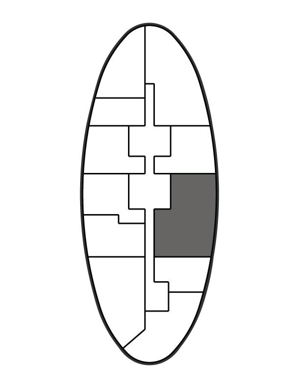 key plan image of residence 4006