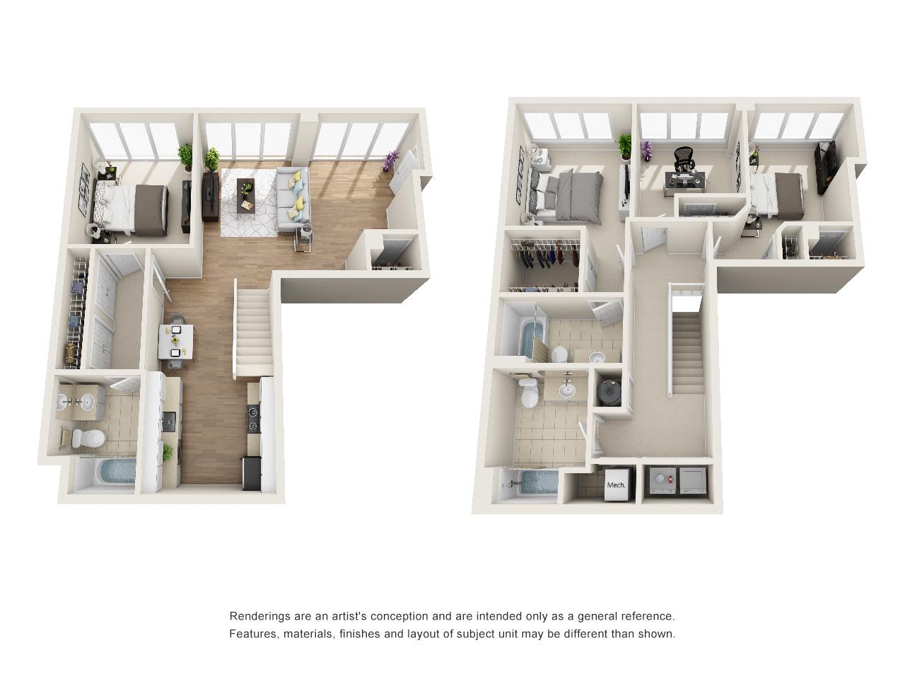 Floorplan TH4