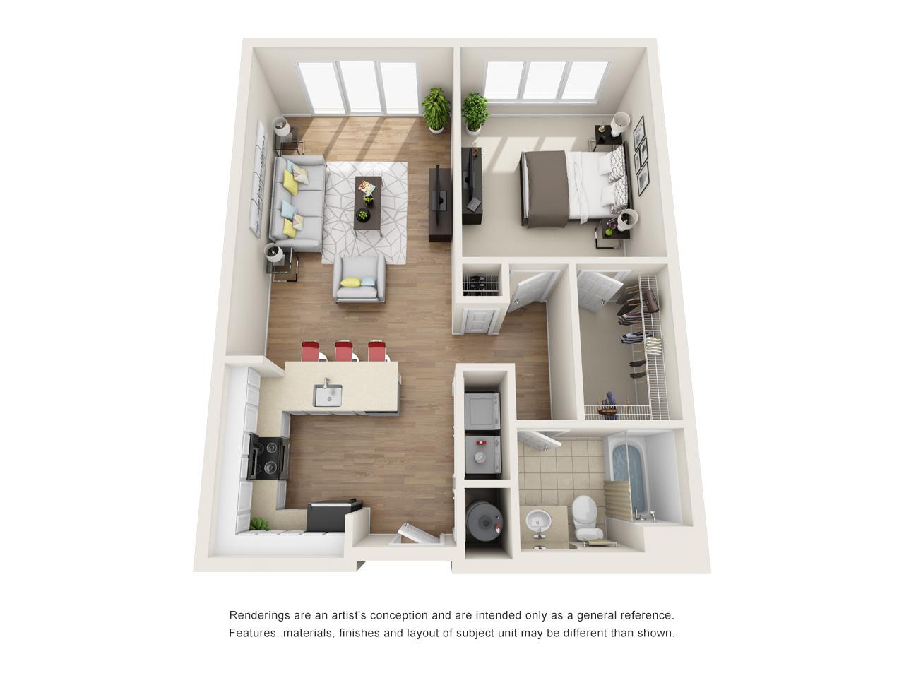 Floorplan 421