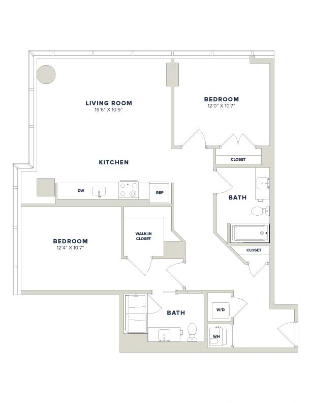floorplan image of residence 2023