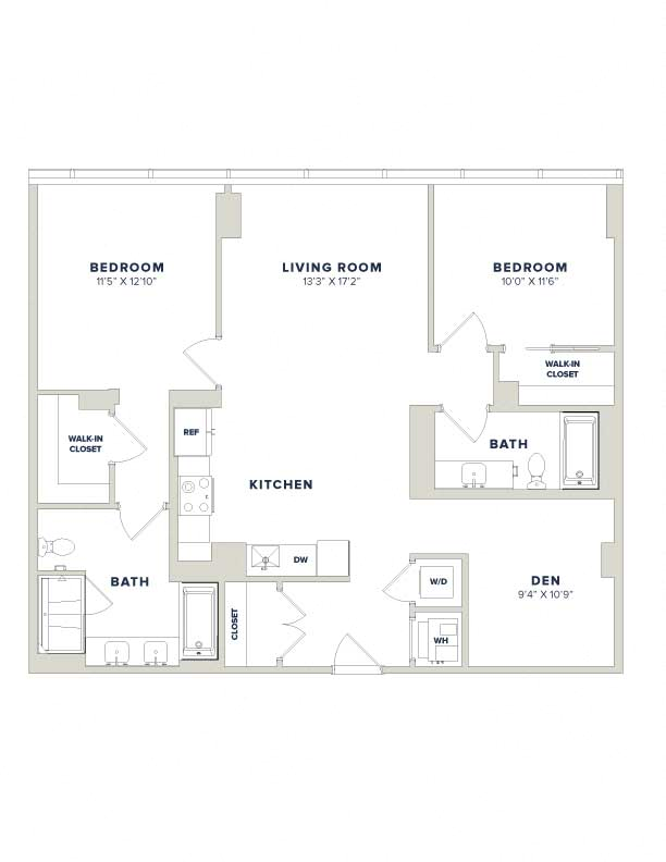 floorplan image of residence PH12