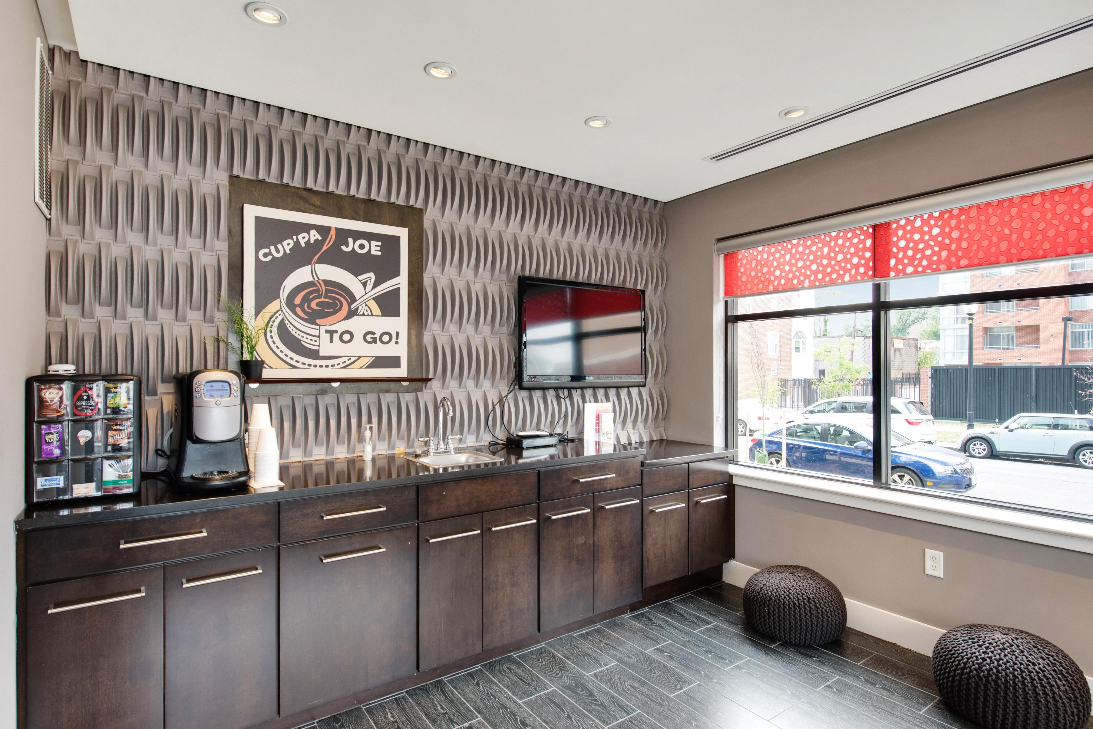 Coffee Bar and Hospitality Station