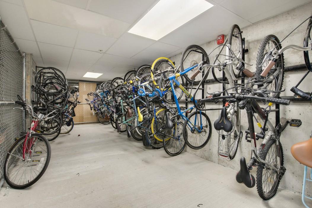 Oversized Bike Storage