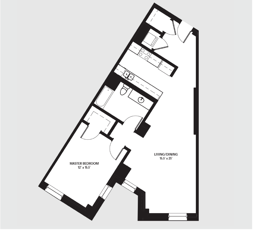 Apartment 1906 floorplan