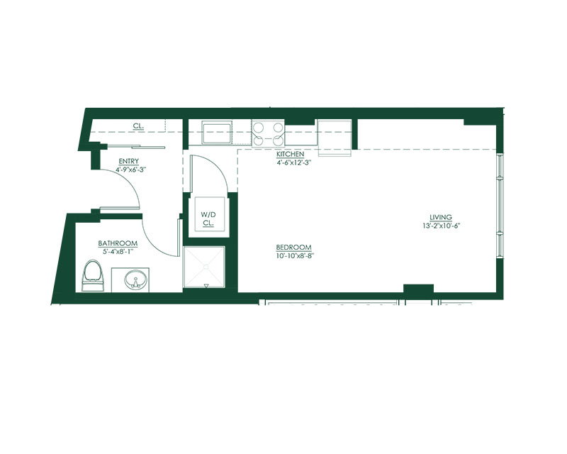 Studio C3 Master Suite Floor Plan