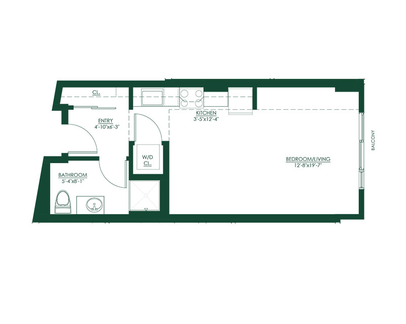 Studio C Master Suite Floor Plan