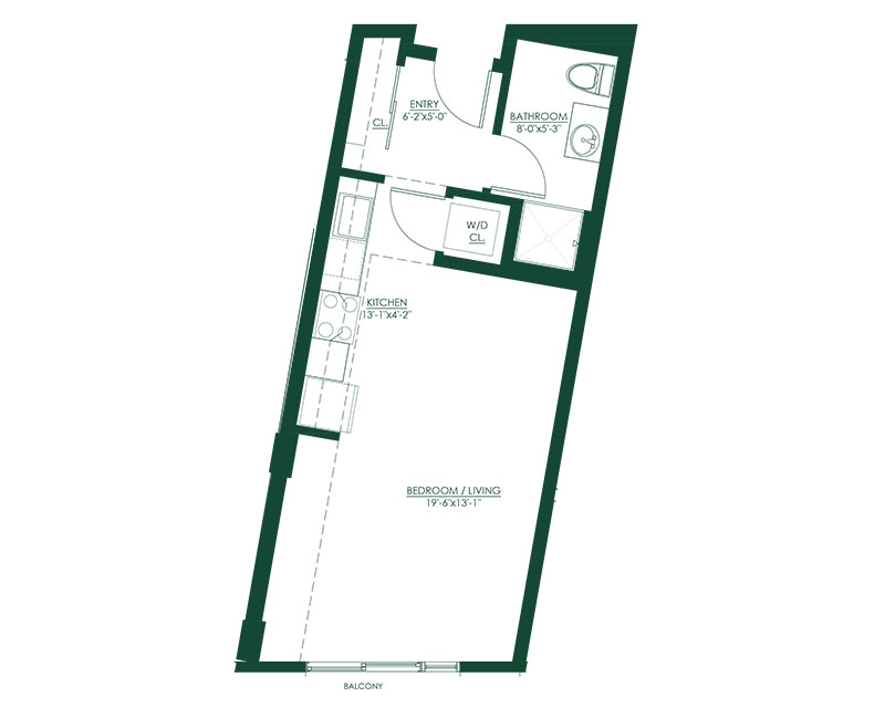 Studio C2 Master Suite Floor Plan