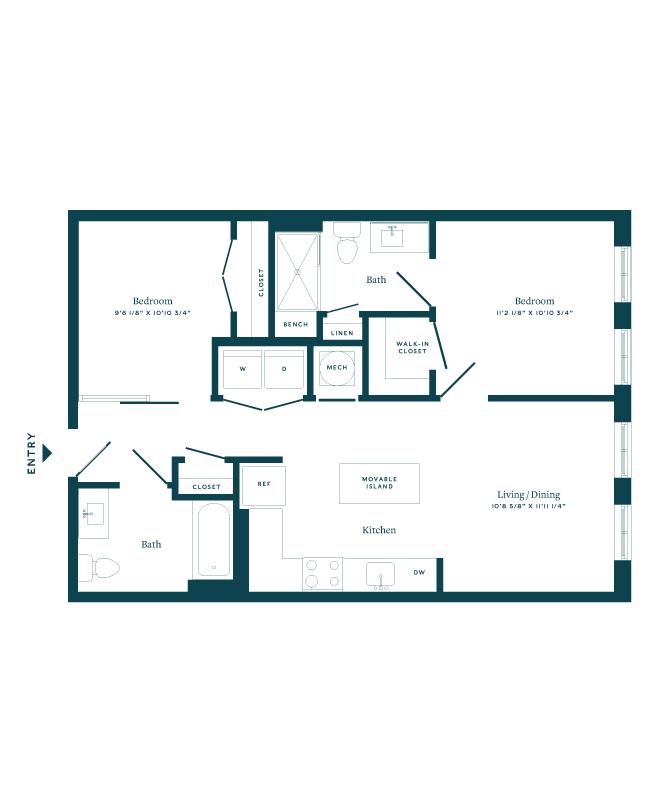 View Plan of  307
