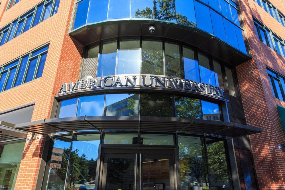 American University near The Saratoga Apartments