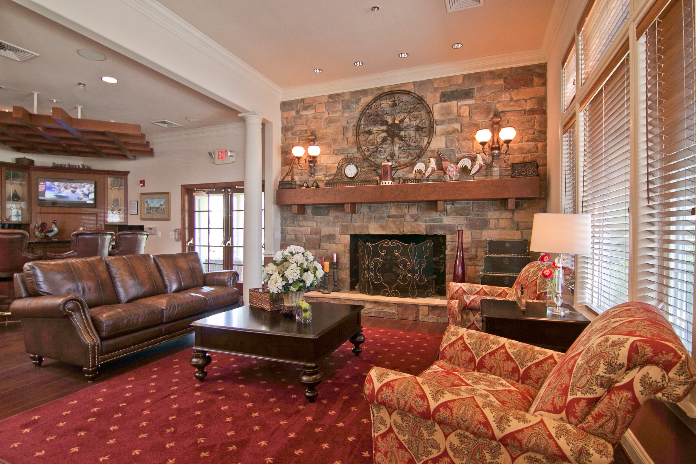 Rentable Clubhouse with Wet Bar at Broadlands